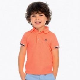 Mayoral 3122-27 Koszulka polo k/r dla chłopca Łosoś