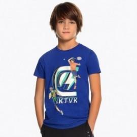 Mayoral 6051-74 Koszulka k/r chłopięca Niebieska