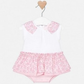 Mayoral 1803-89 Pajacyk spódniczka dla dziewczynki kolor Róż