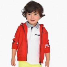 Mayoral 3429-17 Bluza chłopięca z kapturem czerwona