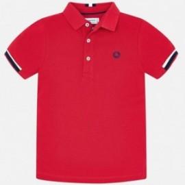 Mayoral 3122-30 Koszulka polo k/r chłopięca Czerwona
