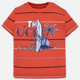 Mayoral 1030-56 Koszulka k/r dla dziecka Czerwona