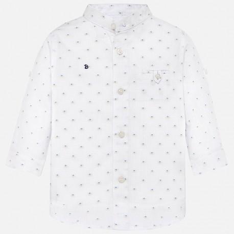 Mayoral 1133-63 Koszula d/r z nadrukiem niemowlęca Biała