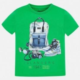Mayoral 3026-89 Koszulka chłopięca Zielona
