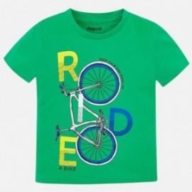 Mayoral 3045-61 Koszulka k/r chłopięca Zielona