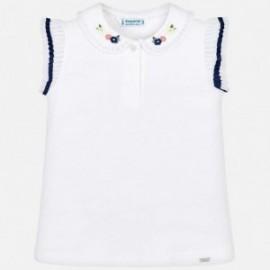 Mayoral 3101-39 Koszulka polo dziewczęca Biała