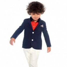 Mayoral 3516-58 Spodnie z paskiem chłopięce Białe
