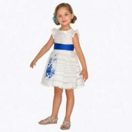 Mayoral 3916-96 Sukienka dziecięca Niebieska