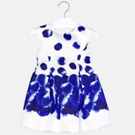Mayoral 3918-39 Sukienka dziewczęca Niebieska