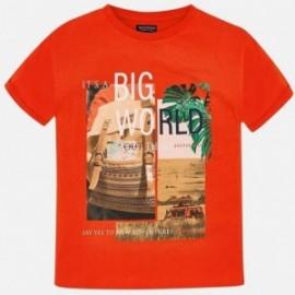 Mayoral 6047-61 Koszulka k/r chłopięca Pomarańcz