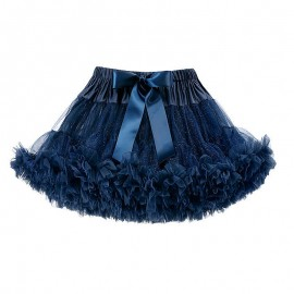 LaVashka spódnica dziewczęca tiulowa granatowa LAV25B