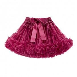 LaVashka spódnica dziewczęca tiulowa rubin LAV22