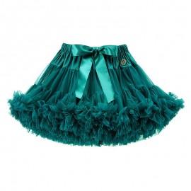 LaVashka spódnica dziewczęca tiulowa szmaragd LAV52