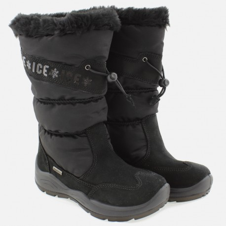 Śniegowce dziewczęce IMAC 430828- 7000-11-S czarny