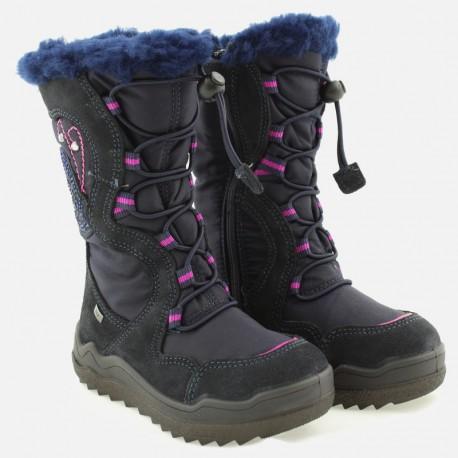 Śniegowce dziewczęce IMAC 431008- 7082-6 granat