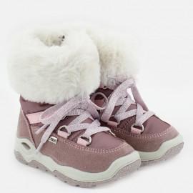 Kozaki zimowe dla dziewczynki IMAC 434098-70057-1-S róż