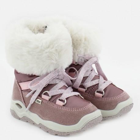 Kozaki zimowe dla dziewczynki IMAC 434098-70057-1-M róż