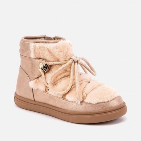Buty zimowe z futerkiem dla dziewczynki Mayoral 46037-83 Różowy
