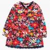 Dzianinowa sukienka dla dziewczynki Boboli 248004-9204 kolorowa