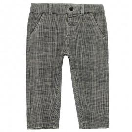 Bawełniane spodnie dla chłopca Boboli 328104-9172 szary
