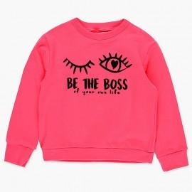 Sportowa bluza dla dziewczynki Boboli 408192-3628-S fuksja