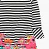 Bawełniana sukienka w paski dla dziewczynki Boboli 428082-9163-S kolorowa