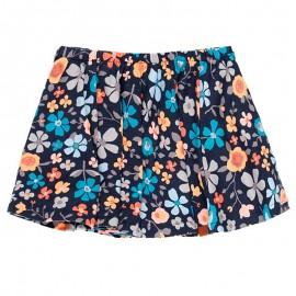 Spódnica bawełniana w kwiaty dla dziewczynki Boboli 458029-9137 kolorowa