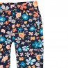 Spodnie bawełniane w kwiaty dla dziewczynki Boboli 458119-9137 kolorowe