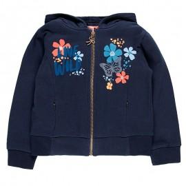 Bluza z kapturem dla dziewczynki Boboli 458210-2440-S granat