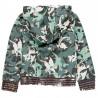 Bluza z kapturem dla dziewczynki Boboli 468176-9161-M zielony