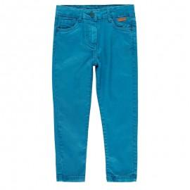 Spodnie elastyczne dla dziewczynki Boboli 498034-4390-M turkus