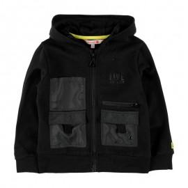 Bluzo kurtka z kapturem dla chłopca Boboli 518228-890-M czarny
