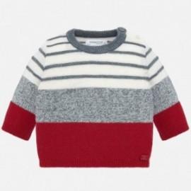 Sweter w paski trykotowy chłopięcy Mayoral 2306-94 Mars