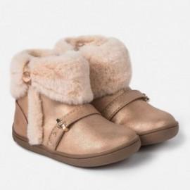 Buty zimowe z futerkiem dla dziewczynki Mayoral 42028-59 Różowy