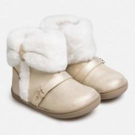 Buty zimowe z futerkiem dla dziewczynki Mayoral 42028-58 Szampan