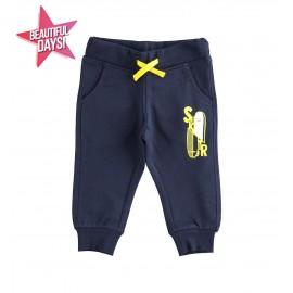 iDO Spodnie dresowe dla chłopca K509-3885 granat