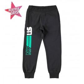 iDO Spodnie dresowe chłopięce K709-0658 czarny