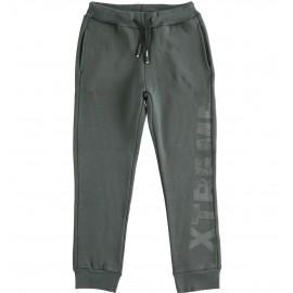 iDO Spodnie dresowe bawełniane chłopięce K782-0567 szary