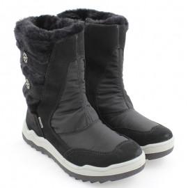 Kozaki zimowe dla dziewczynki IMAC 431018- 7000-11 czarne
