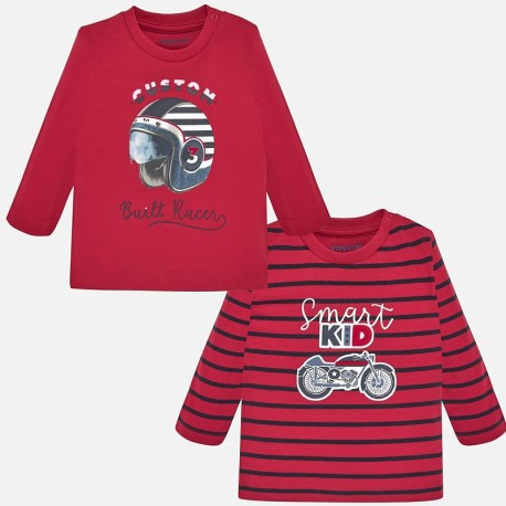 Komplet 2 koszulki z długim rękawem dla chłopca Mayoral 2018-48