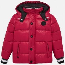 Kurtka na zimę z odpinany kapturem dla chłopca Mayoral 7442-21 Czerwony