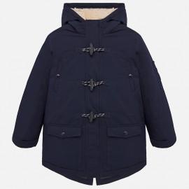 Parka kurtka zimowa z kapturem dla chłopca Mayoral 7445-26 Granatowy