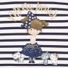 Sukienka bawełna z tiulem dziewczęca Mayoral 2924-58 Granatowy