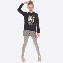Komplet bluzka i leginsy dla dziewczynki Mayoral 7706-70