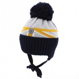 Jamiks SORIN IV czapka dla chłopaka z pomponem miodowy