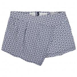 Mayoral 6975-90 Spódnico-spodnie we wzory Indygo