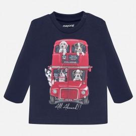 Koszulka z długim rękawem dla chłopca Mayoral 2027-62