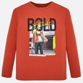 Koszulka z długim rękawem dla chłopaka Mayoral 7031-58