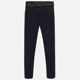 Spodnie eleganckie z paskiem chłopięce Mayoral 7513-26