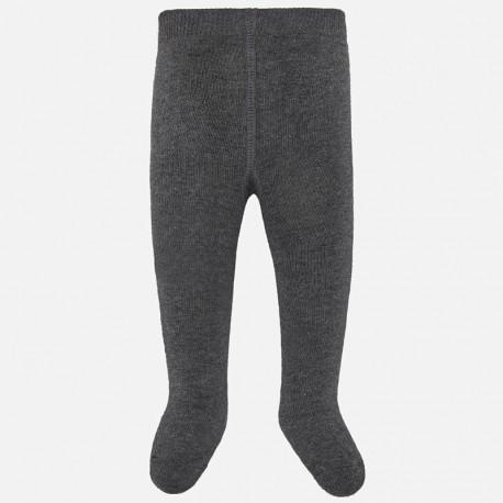 Rajstopy ciepłe bawełniane dla dziewczynki Mayoral 10628-37 Ołowiany